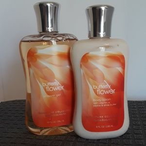 Butterfly Flower shower gel and lotion